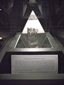 Il campione di roccia lunare